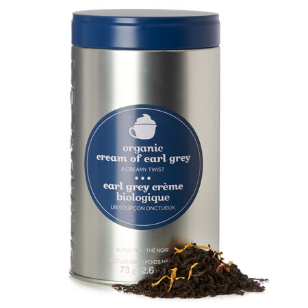 Organic Cream of Earl Grey Favourite Tin