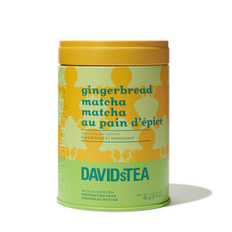 Gingerbread Matcha Tea Iconic Tin