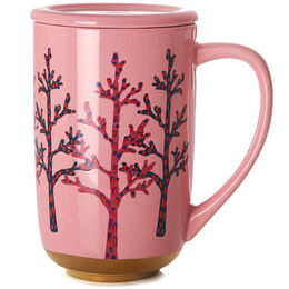 Nordic Mug Winter Birch Gold Dipped
