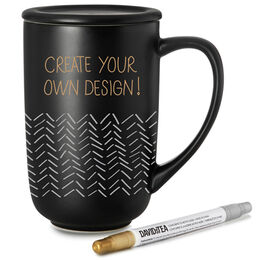 Customizable Nordic Mug Black