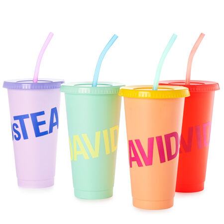 Colour Changing Cold Cups - Set of 4