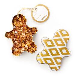 Gingerbread Blondie Ornament Tin