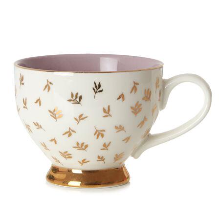 Gold Bough Bloom Teacup