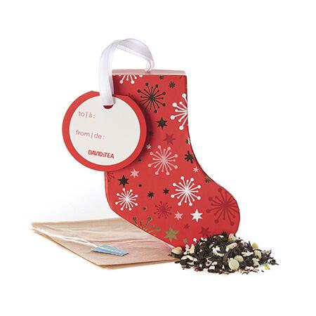 Candy Cane Crush Tea-filled Ornament