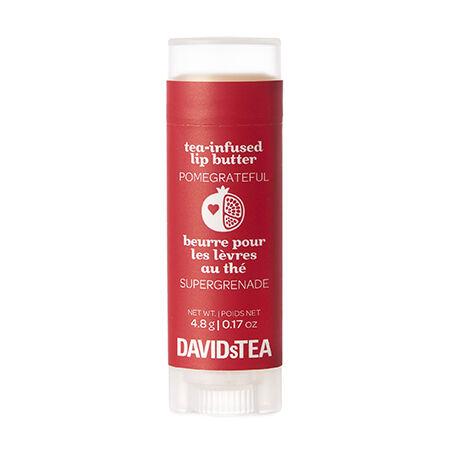 Pomegrateful Tea-Infused Lip Butter