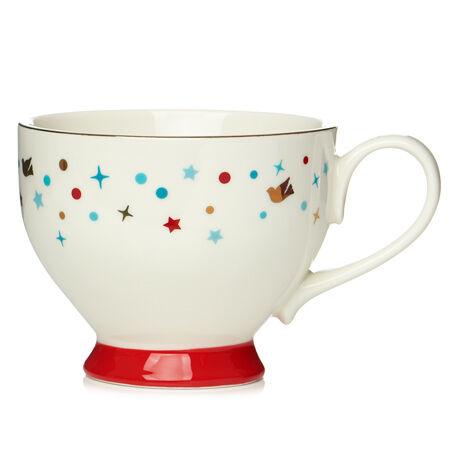 Partridge White Bloom Teacup