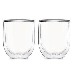 Tasse en verre à double paroi (ensemble de 2)