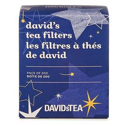 Stars David's Tea Filters Pack of 200