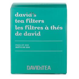 David's Tea Filters Pack of 200