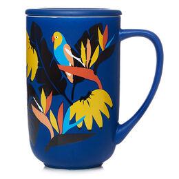 Color Changing Nordic Mug Tropical Navy