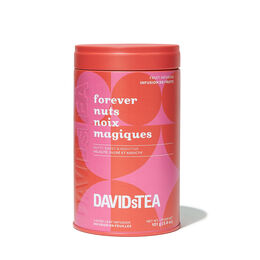 Forever Nuts Tea Printed Tin
