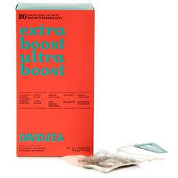 Boîte de 20 sachets de thés assortis – Ultra boost