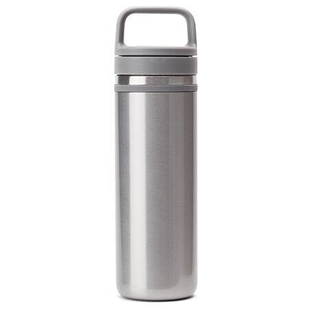 silver carry travel mug