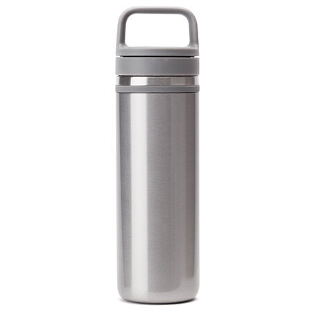 silver carry travel mug