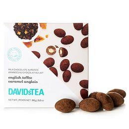 Amandes enrobées de chocolat au lait thé Caramel anglais