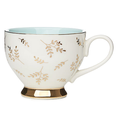 Gold Branches Bloom Teacup