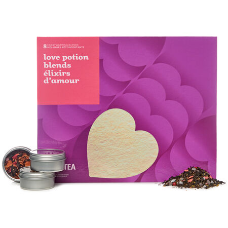 Love Potion Blends 8 Teas Book Box