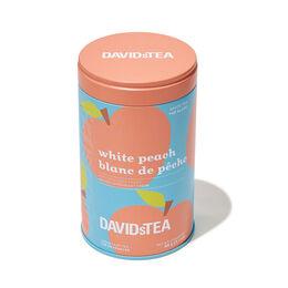 White Peach Iconic Tin