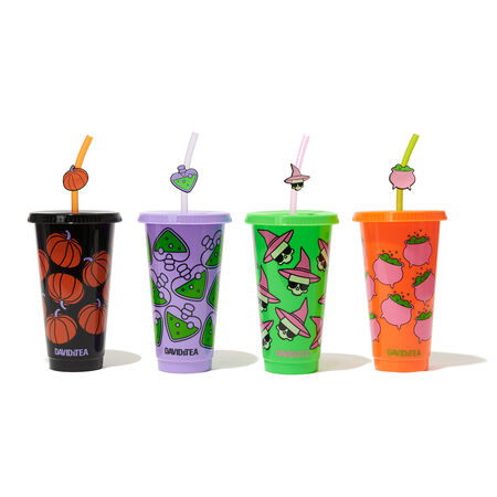 Halloween Cold Cups (Set of 4)