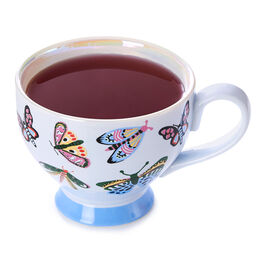 Bloom Teacup Butterfly Winter Ice