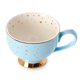 Bloom Teacup Starry Night Snowman