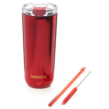 Polished Metallic Red Favourite Tumbler