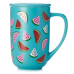 Nordic Mug Holographic Watermelon Teal
