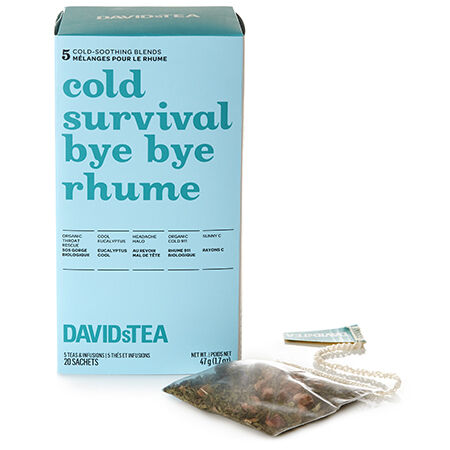 Cold Survival Tea Sachet Variety Pack