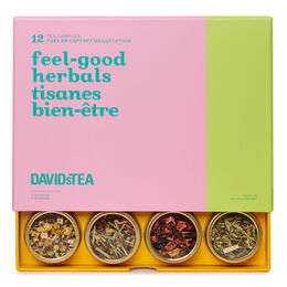 Feel-good Herbals 12 Tea Sampler