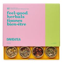 Coffret dégustation de 12 thés Tisanes bien-être