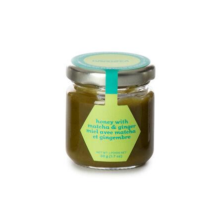 Ginger Matcha Honey Jar