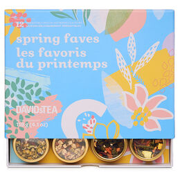 Spring Faves 12 Tea Sampler