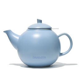 Bubble Teapot Matte Baby Blue