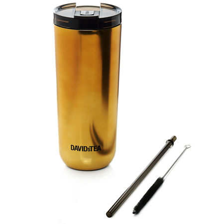 Polished Metallic Gold Favourite Tumbler
