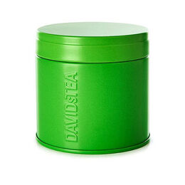 Matcha tea tin