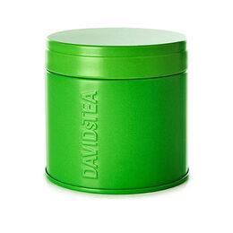 Matcha tea tin