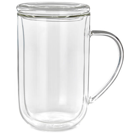 Double Walled Glass Nordic Mug