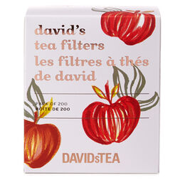 Pumpkin David's Tea Filters Pack of 200