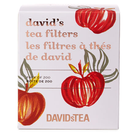 Pumpkin David's Tea Filters Pack of 200