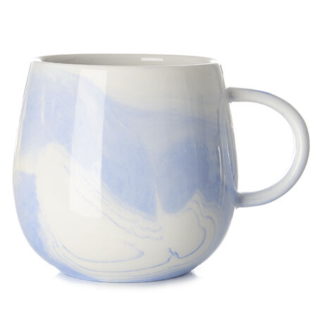 Ink Marble Raindrop Mug