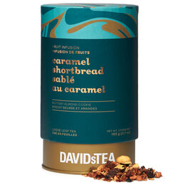 Caramel Shortbread Large Tea Tin