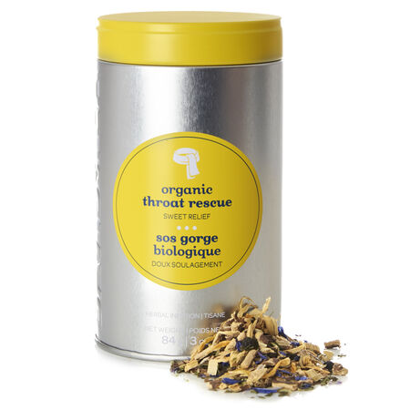 Organic Throat Rescue Favourite Tin