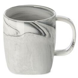 Square Mug Marble