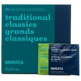 Traditional Classics Mini Sachet Tea Chest