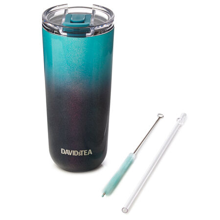Blue Two-Tone Holographic Favourite Tumbler
