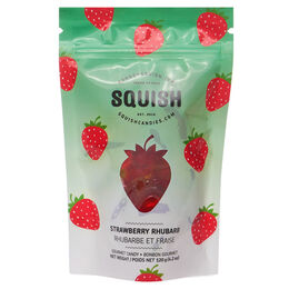 Strawberry Rhubarb Gummies by SQUISH