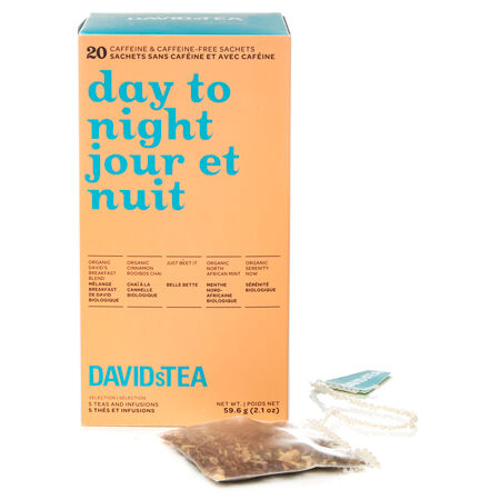 Day to Night Tea Sachet Variety Pack of 20