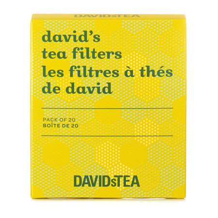Bee the Change David's Tea Filters Pack of 20