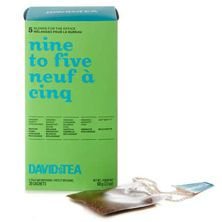 Nine to Five Tea Sachet Variety Pack