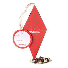 Décoration de Noël remplie de thé  Canne craquante